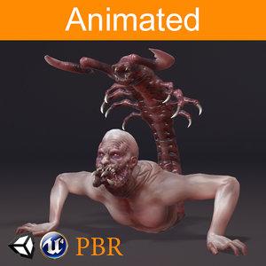 3D parazite slider model