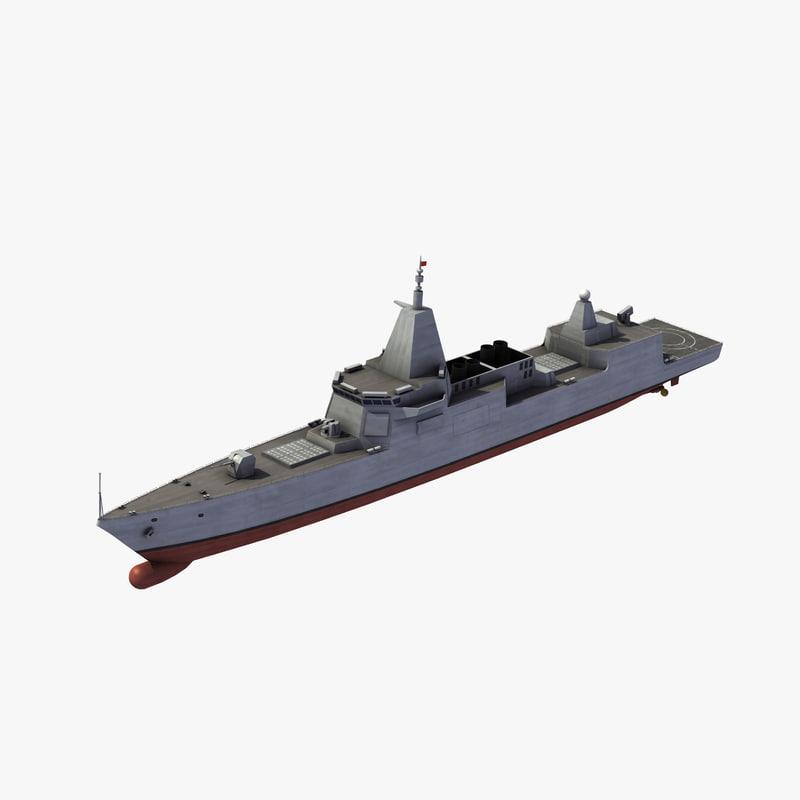 type 055 renhai class model