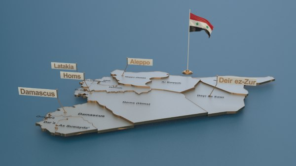animation elections 3D model