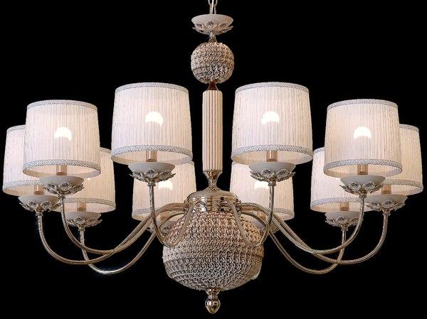 adagio sp10 chandelier 3D