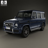 3D model mercedes-benz g-class amg