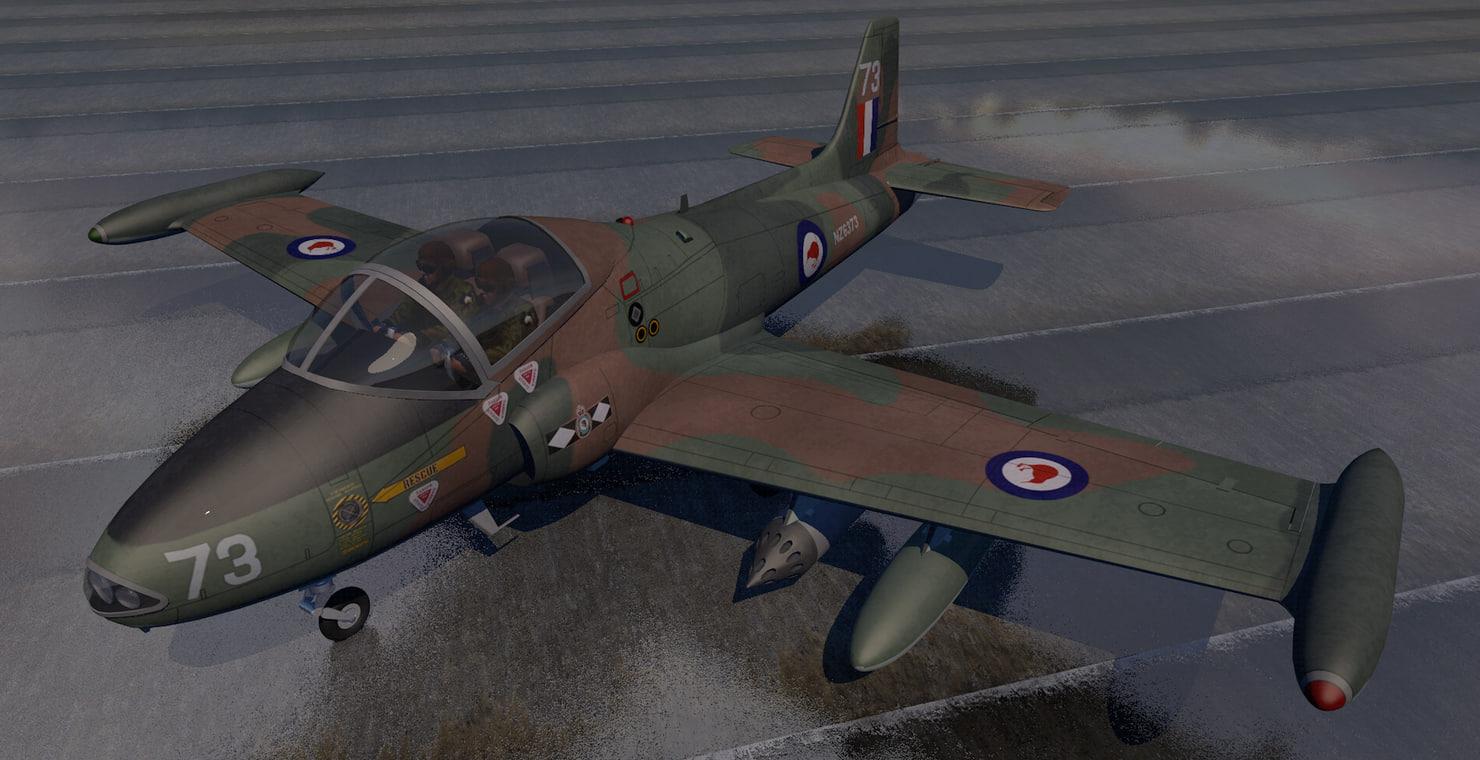bac 167 strikemaster mk-88 3D