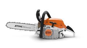 chainsaw stihl ms 261c 3D model