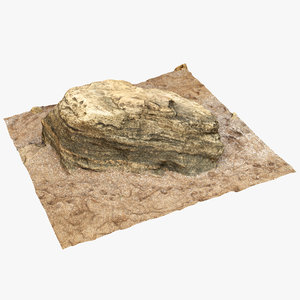small limestone sand 3D model