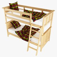 bunk bed annona 3D