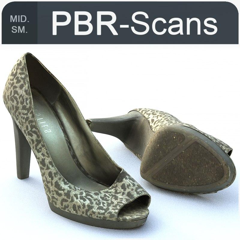 shoe scans model
