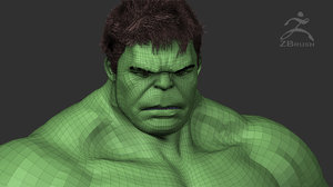 hulk z-tool 3D model