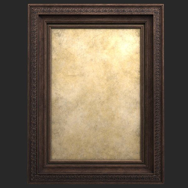 3D frame pictures wood