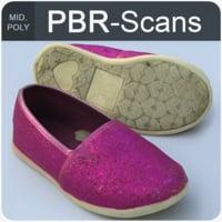 3D scans shoe