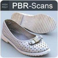 3D model scans shoe