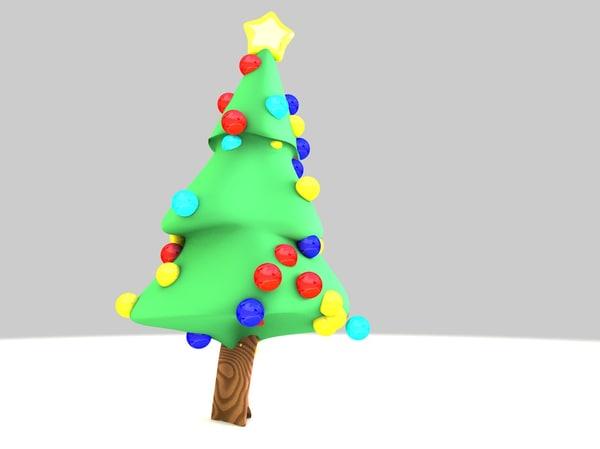 christmas tree printing navidad 3D model