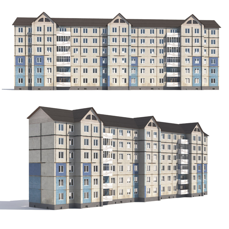 Prefabricated Apartment Building