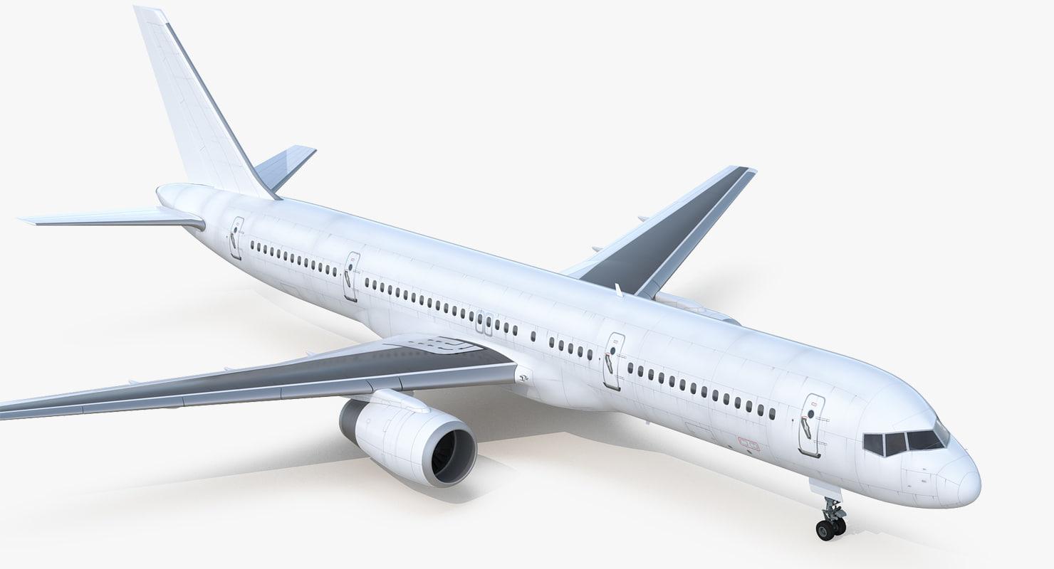 boeing 757-200 generic 3D model