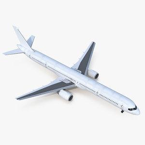 3D model boeing 757-300 generic