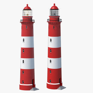3D model lighthouse light house