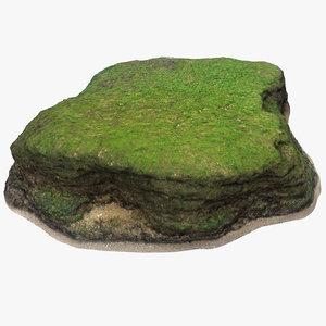 3D limestone seaweed 2