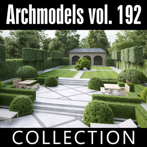 archmodels vol 192 3D