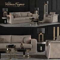 3D model vittoria frigerio appiani sofa armchair