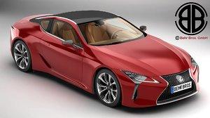 lexus lc 500 2018 3D model