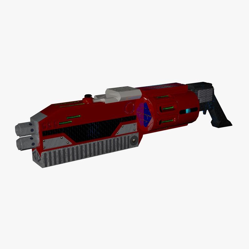 shotgun maps 3D model