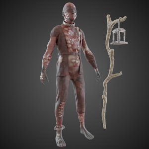 blind character model