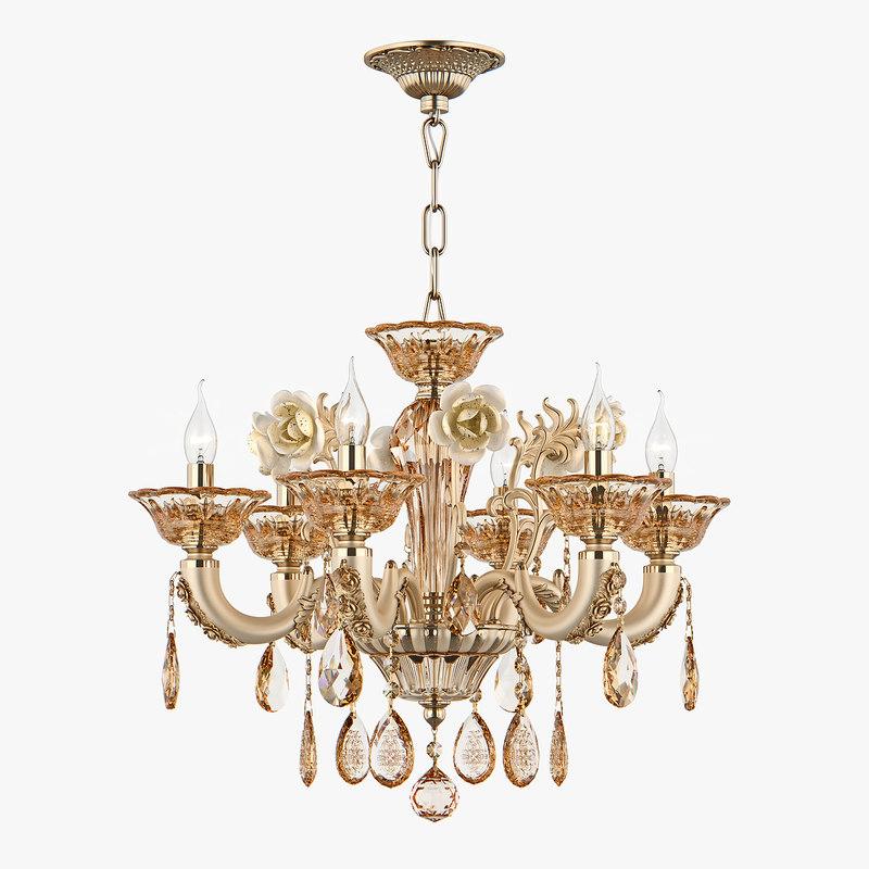 3D chandelier md 32661-6 osgona model