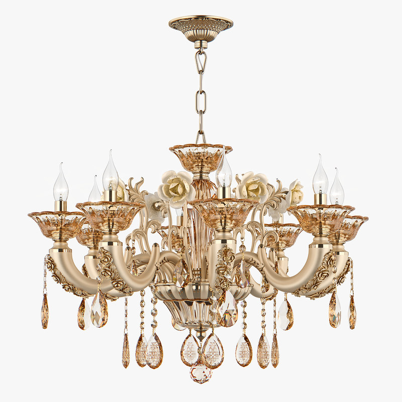 3D chandelier md 32661-8 osgona