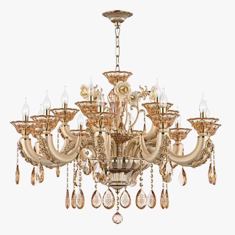 chandelier md 32661-10 5 3D model