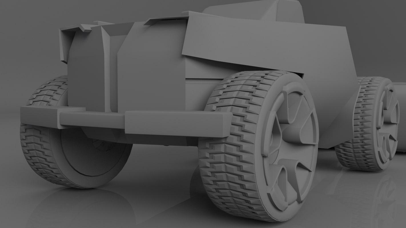3D bulldozer