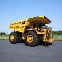 3D mining truck model