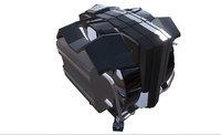 cooler master v8 3D model