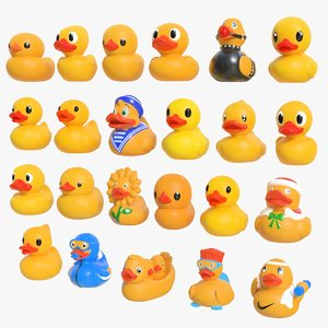 3D rubber duck 01