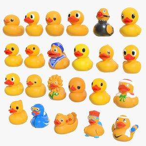 3D rubber duck 01