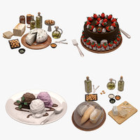 Food and Drink Set 01 (21 Product)