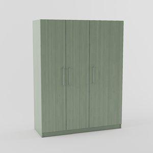 dombas wardrobe ikea 3D model