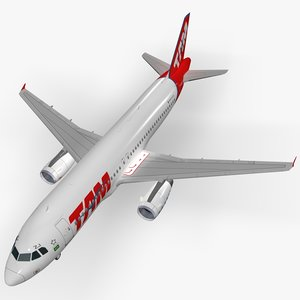 airbus a320-232 tam commercial model