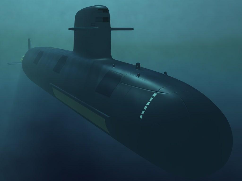 3D sub submarine