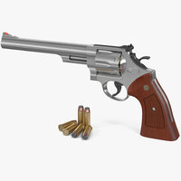3D smith wesson 29 8