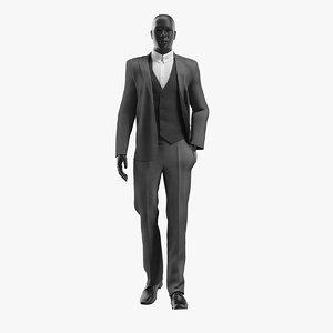 3D realistic man suit 2