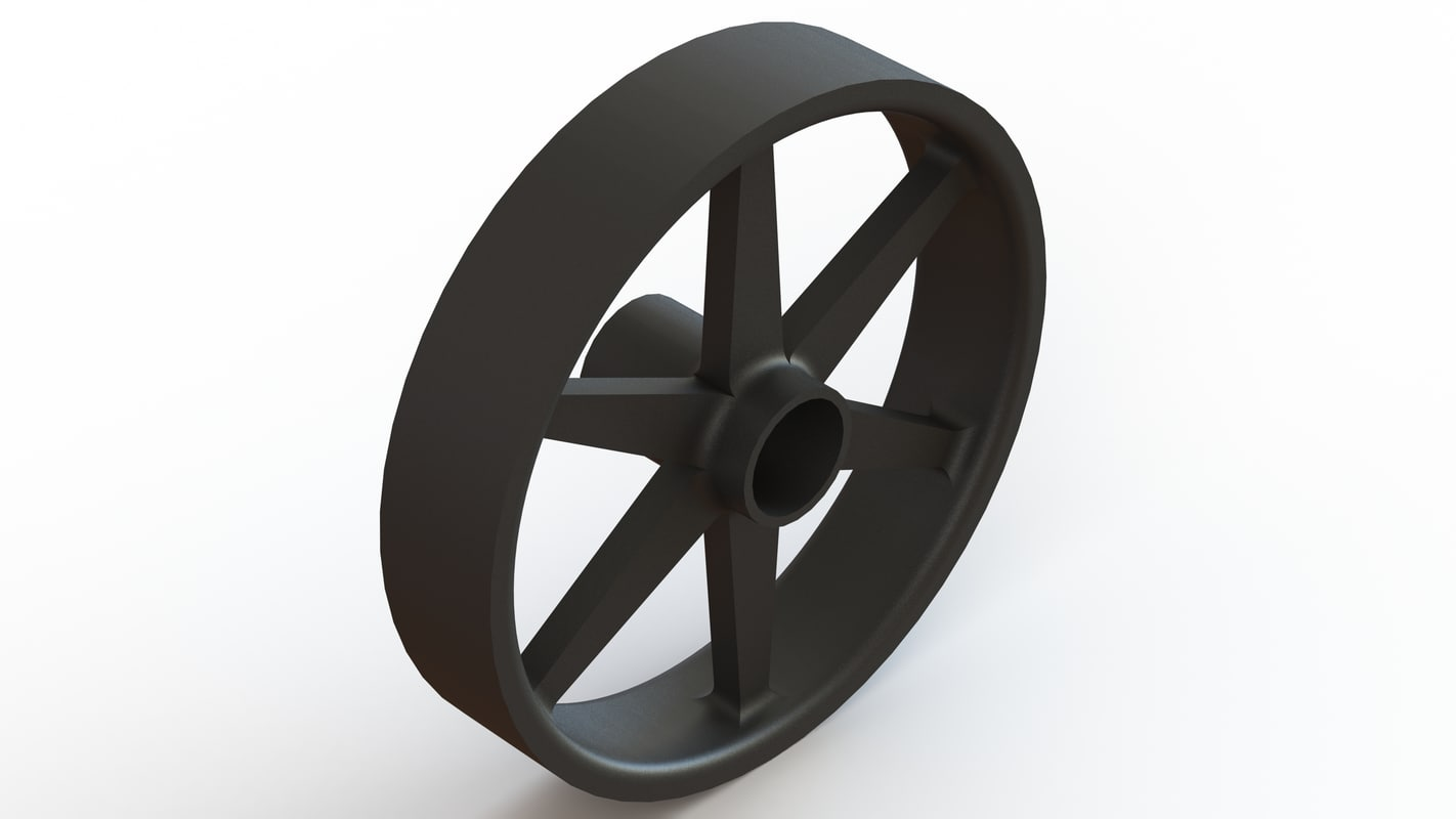 briggs stratton lawnmower wheel 3D model