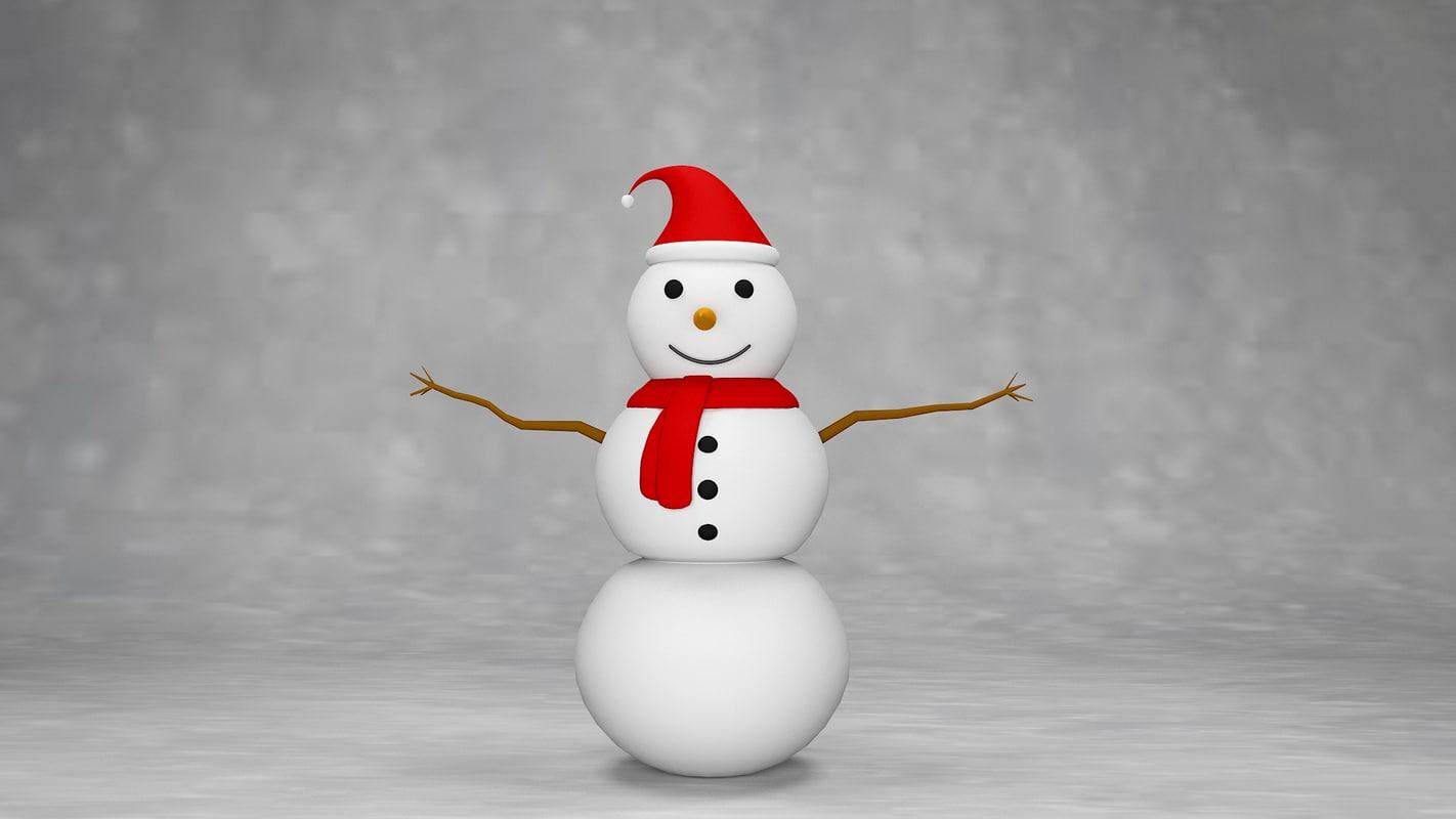 good snowman 3D