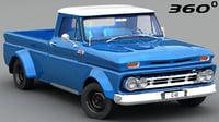 3D chevrolet c-10 1965 vr model