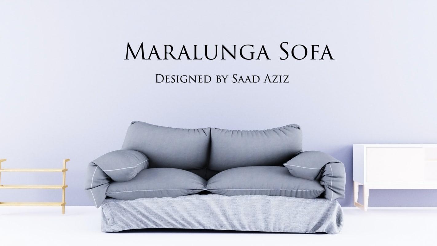 3D sofa designed marvelous model