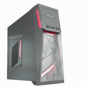 pc tower case 3D