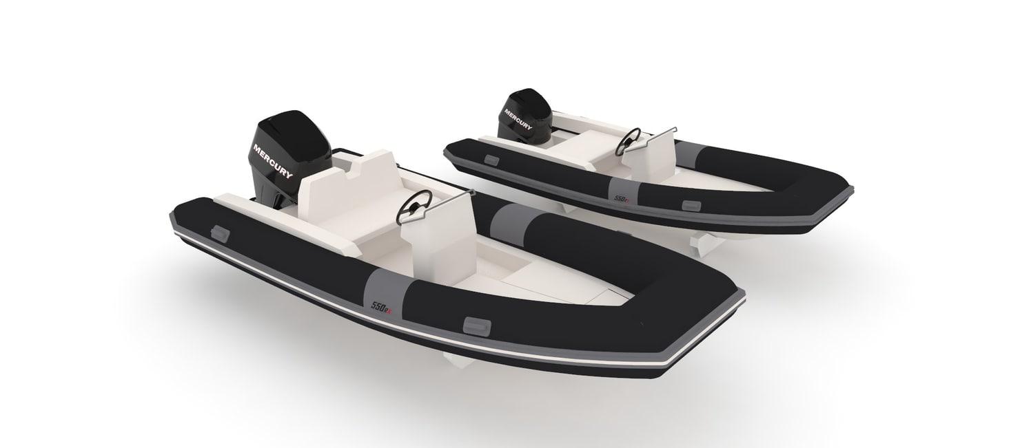 northstar tender boat 550 3D model