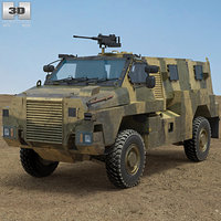 bushmaster protected mobility model