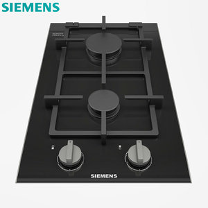 3D gas hob ceramic model
