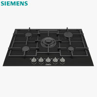 hob ceramic burner 3D