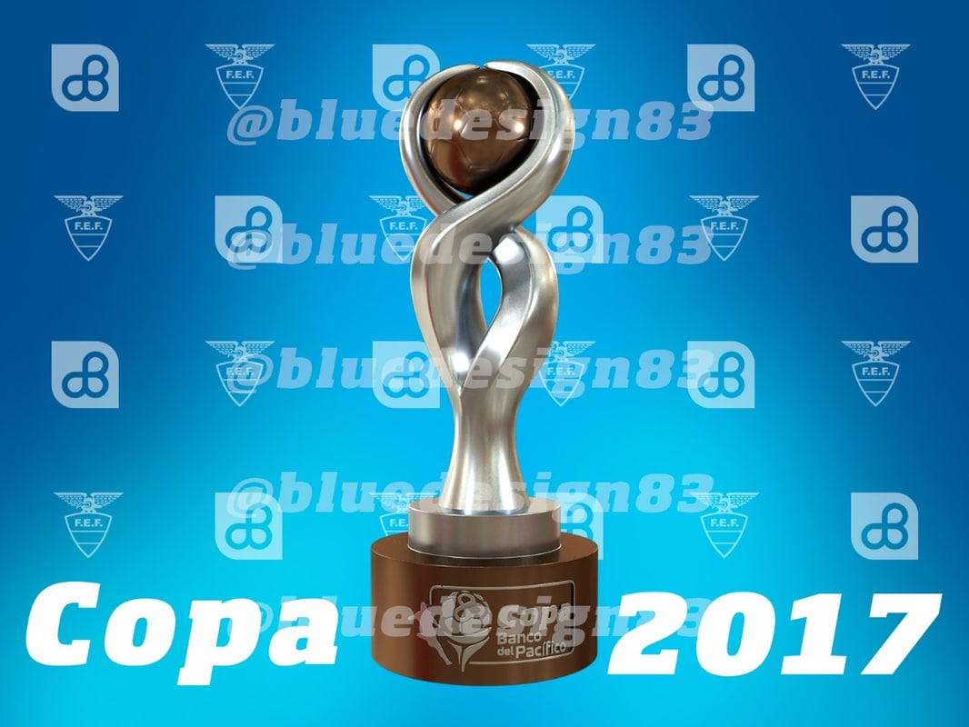 copa del banco pacifico 3D model
