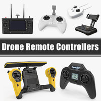 3D drone remote controllers